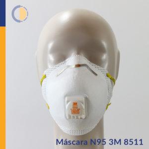 Máscara N95 3M 8511