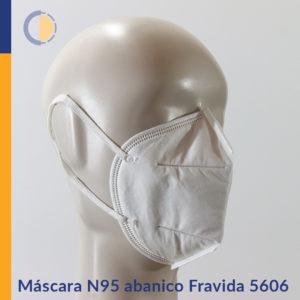 Máscara N95 abanico Fravida