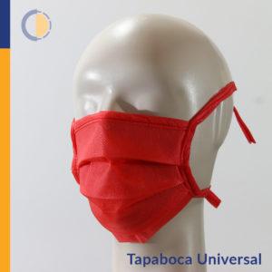 Tapaboca Universal Descartable con tiras